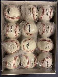 Wilson A1050 Baseballs / 1 Dozen / New in Wrapper