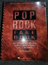 """The Pop Rock Fake Book (Key of """"C"""", 3rd Edition) - Over 500 songs (Nos)"""