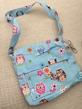 Handmade Owl Handbag With Pockets