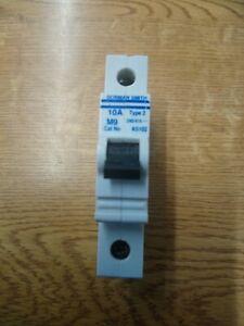 Dorman Smith M9 AS102 MCB  10 Amp Type 2 MCB Circuit Breaker Used