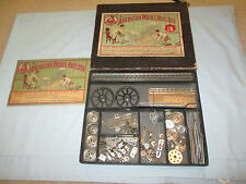 The American Model Builder Set #3 w/1913 Instruction Manual.