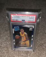2017 Panini Donruss OPTIC #174 Kyle Kuzma RC Rookie PSA 10 GEM MINT Lakers