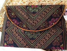Embroidered  Clutch /  purse / Clutch  Perfect for iPad /Tablet Cover