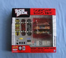 Tech Deck SUPER RARE  Santa Cruz Skateshop Bonus pack w 6  fingerboards  VHTF