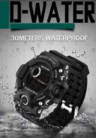 SANDA Waterproof Sport Watch Men Digital Military Wristwatch G Style Shock