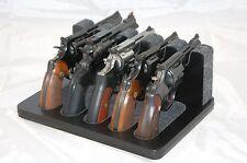 Pistol 5 Gun Rack Stand 504 Black Cabinet Safe