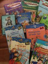 Büchersammlung Kinderbücher, 11 Stück, ab 8 Jahren, spannende Bücher/Detektivges