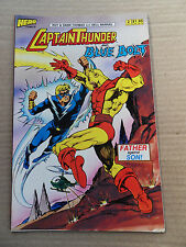 Captain Thunder and Blue Bolt 2 . Hero Comics 1987 - VF - minus