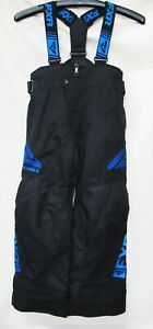 FXR Racing Child's Black/Blue Clutch Pants - 190500-1040-08 SIZE 8
