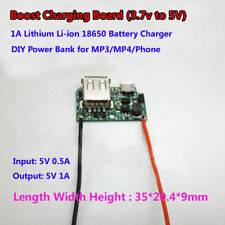 USB 3.7V Lithium Li-ion 18650 Battery Charger Charging Module for Power Bank DIY