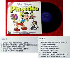 LP Pinocchio - Songs from the Disney Film