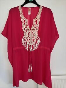 Pretty Beach Cover Up by Ocean Club. Size 14/16. Brand new