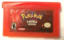 Authentic Pokemon FireRed Fire Red Game Boy Advance ORIGINAL SAVES
