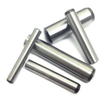 Made in U.S.A. Alloy Steel Solid Dowel Pins 1//4 X 7//8 Ebony Finish 100 pcs