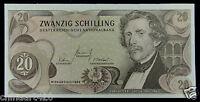 Austria 20 Schilling BANKNOTE 1967 UNC