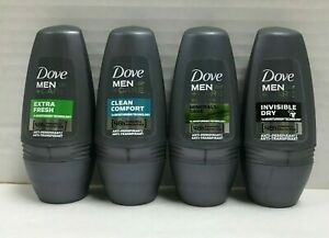 Assorted Dove Deodorant & Anti-perspirant 48H Roll-on for Men 50 Ml. (6 Pack)