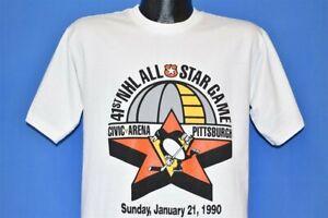 Pittsburgh Penguins NHL All Star t-shirt White Unisex Cotton Vintage TK1625