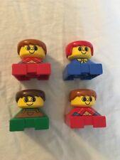 Lego Duplo Vintage Figure Lot Of 4