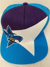 New Charlotte Hornets Mens Size OSFA Adidas Throwback Snapback Flatbrim Hat $25