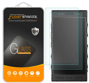 2X Supershieldz Tempered Glass Screen Protector Saver for Red Hydrogen One