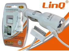 CARICABATTERIE DA AUTO X APPLE IPHONE 3 3S 4 4S IPOD TOUCH NANO LINQ C-iP4 mshop