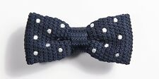 Men's Spotted Bowtie Knit Knitted Bow Tie Woven Australia - Cut Throat Tie Co