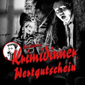 Das Original KRIMIDINNER® - Der Spuk von Darkwood Castle in Stuttgart -Gutschein