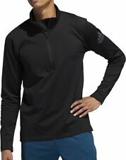 adidas Freelift ClimaWarm Half Zip Long Sleeve Mens Running Top - Black