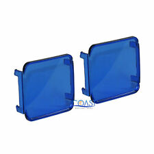 2X Durable Protective Colored Translucent Blue 3 X 3 Square Spotlight Cover