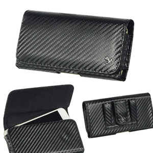 Carbon Fiber Pattern Carry Case Pouch for Insulin Pump,CGM Device,Minimed 630g