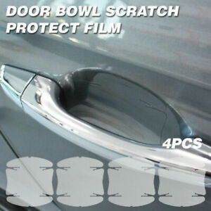 Door Handle Cup Anti Scratch Clear Paint Protector Film For HYUNDAI CAR