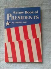 1976 Arrow Book Of Presidents Sturges Cary Scholastic