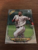 2018 Bowman Chrome Victor Robles Rookie of the Year Favorites Rookie Card