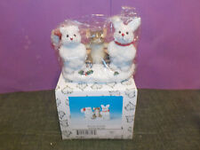 "Charming Tails Figurine ""Frosty Friends"" 98/260 By Fitz & Floyd"