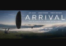 Arrival Huge 12 Ft x 6 Ft Movie Theater Vinyl Banner Poster, Amy Adams NIB
