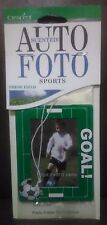 Photo Frame Car Air Freshener-Soccer Themed-Fresh Field Scent