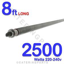 BULK PACK OF 8 - 8ft LONG 2500 WATT HE9625 2.5kW DRY / WET ROD HEATING ELEMENT