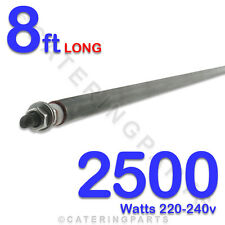"HE9625 96"" / 8ft LONG 2500 WATT 2.5kW DRY / WET ROD HEATING ELEMENT UNIVERSAL"