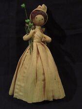 Vintage handmade Corn Husk Doll
