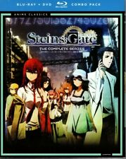 *NEW/SEALED* STEINS; GATE *25 EPISODES*ANIME*BLU-RAY/DVD COMBO*