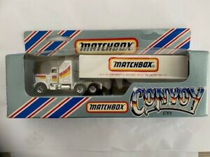 Matchbox convoy CY9 matchbox name, new & gift from Macau Die casting Toys Ltd