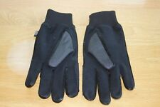 Womens Black Thinsulate Gloves-Size Large