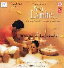 WOH LAMHE - PRITAM cd bollywood film soundtrack album