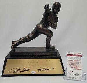 John Cappelletti Signed Replica Heisman Trophy Penn State JSA W128457
