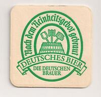Deutsches Bier - Bierdeckel der deutschen Brauer - 1980er Jahre