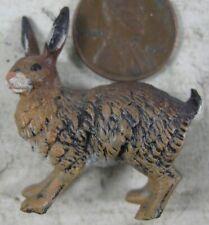 Vintage Solid Lead Miniature Rabbit Austria