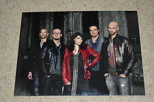WITHIN TEMPTATION sexy signed Autogramm In Person 20x28 cm SHARON DEN ADEL