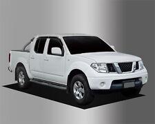 For Nissan Navara D40 2005 - 2015 Wind Deflectors Set - Double Cab (4pcs)