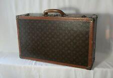 Vintage Louis Vuitton Alzer 60 Monogram Hard Suitcase Luggage