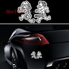 1p Funny JDM Lady-killer Screw Nut Reflective Vinyl Motorcycle Car Sticker Decal